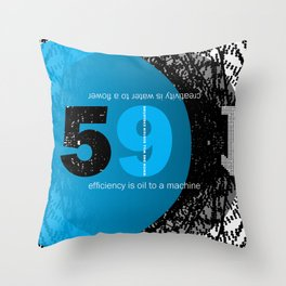 creativty Throw Pillow