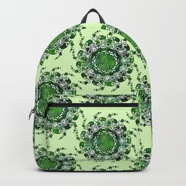 Hearts only! green Backpack