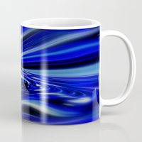 code Mugs featuring Code Blue by Chris' Landscape Images & Designs