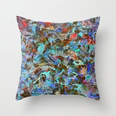 Approximate Stirs Throw Pillow