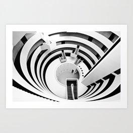 The Gemini Tower Art Print