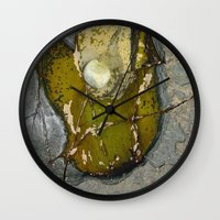 rocky Wall Clocks featuring Rocky by CrismanArt