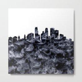 Minneapolis Skyline Minnesota Metal Print
