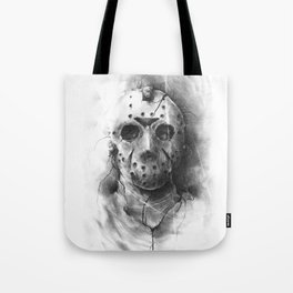 The Horror of Crystal Lake Tote Bag