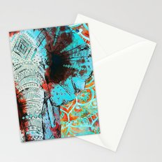 Indian Sketch Elephant Stationery Cards