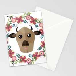 Cow&Wreath Stationery Cards