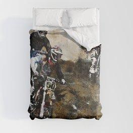 """""""Dare to Race"""" Motocross Dirt-Bike Racers Comforters"""