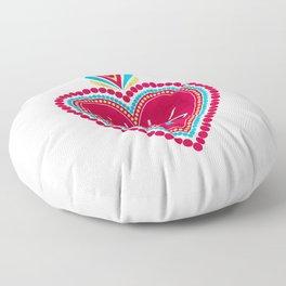 Ex Voto Sacred Heart Floor Pillow
