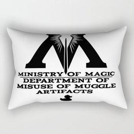 Muggle Artifacts Rectangular Pillow