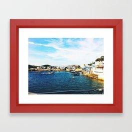 a corner of HK  Framed Art Print