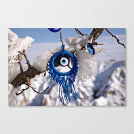 Evil Eye Protection Canvas Print