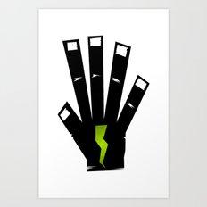 Right Hand Art Print