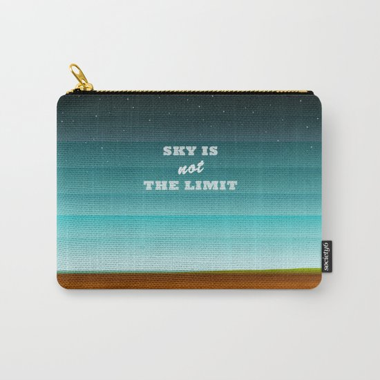 Sky is not the limit Carry-All Pouch