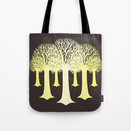 electricitrees Tote Bag