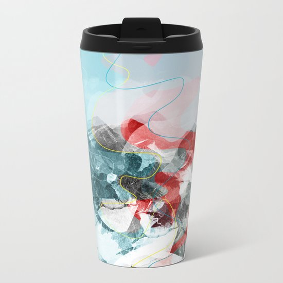 another abstract dream 2 Metal Travel Mug