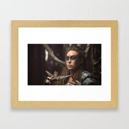 Lexa 01 Framed Art Print