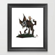 El Roquito. Framed Art Print