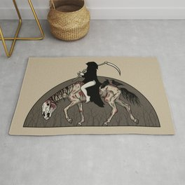 On A Pale Horse Rug