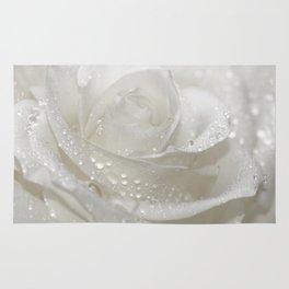 Rose white 0115 Rug