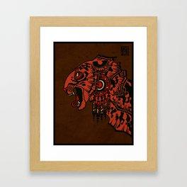 Tezcalipoca Framed Art Print