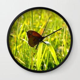 Morning Medow Wall Clock