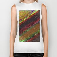 bands Biker Tanks featuring Class Seven Atmospheric Bands by Theoretical Art