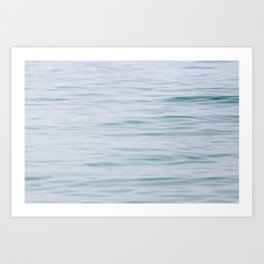 Ever So Gently - Water Photography Art Print