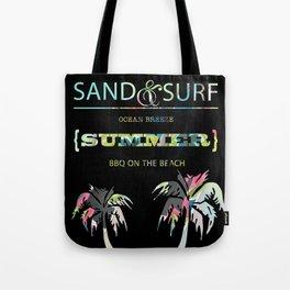Sand & Surf Summer Tote Bag