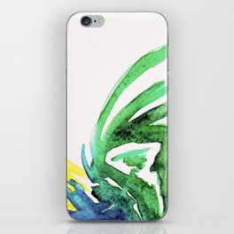 colourful rooster iPhone Skin