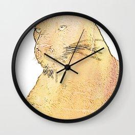 Beautiful creature ll Wall Clock