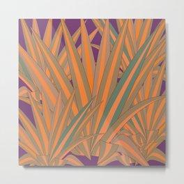 Colorful Agaves Metal Print