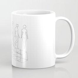 The Nude Descending a Staircase No. 3 Coffee Mug