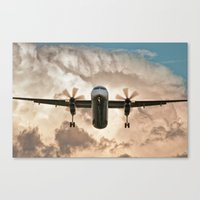 aviation Canvas Prints featuring Aviation Series by Jose Renteria Cobos