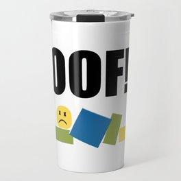 Roblox Oof Travel Mug