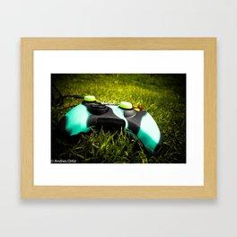 X-box Framed Art Print