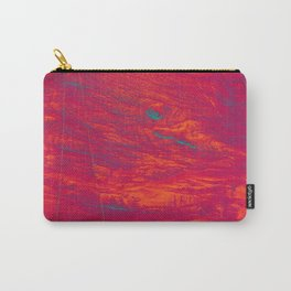 Madera abstracta Carry-All Pouch