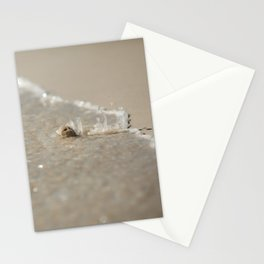 Seashell in the Waves Stationery Cards
