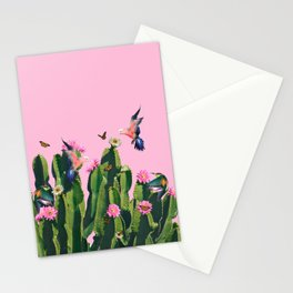 the Succulent Cactus Stationery Cards