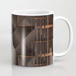 no. 270 black tan white gray Coffee Mug