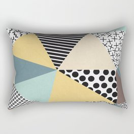 Abstract Geometry Rectangular Pillow