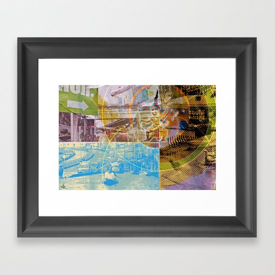 Collateral^2ndHand°FloodNewz Framed Art Print
