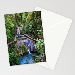 Valley of 33 waterfalls Stationery Cards
