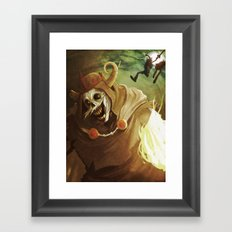 The Lich Framed Art Print