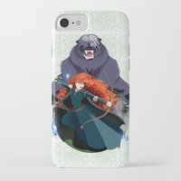 merida iPhone & iPod Cases featuring Merida by Karrashi