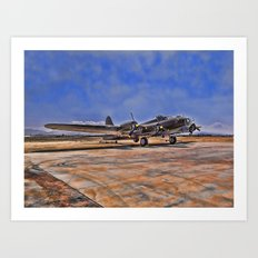 B-17 Flying Fortress Art Print