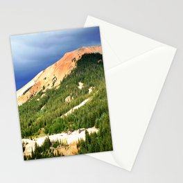Sunlight Before the Storm, on the Gold Mines of Red Mountain Stationery Cards