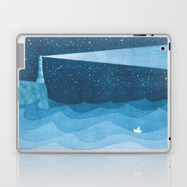 Lighthouse illustration Laptop & iPad Skin