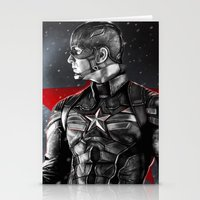 avenger Stationery Cards featuring First Avenger by p1xer