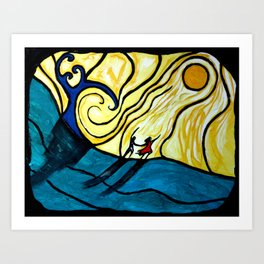 To Heaven Together Art Print