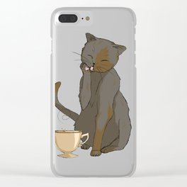 But that's none of my business... Clear iPhone Case